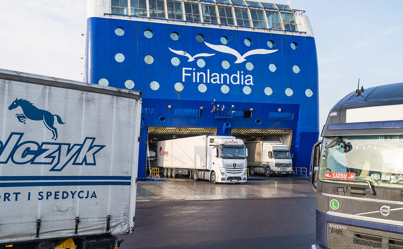 M/s Finlandian rahtiliikenne jatkuu – lääkekuljetukset priorisoidaan suomalaisella aluksella