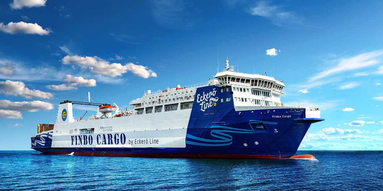 Finbo Cargo on telakalla 25.1.-29.3.2020