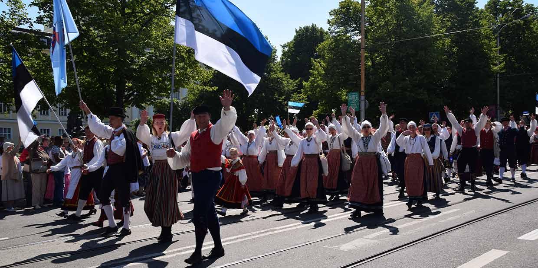 Poikkeusjärjestelyjä Tallinnan liikenteessä Laulujuhlien aikana 4.-7.7.19