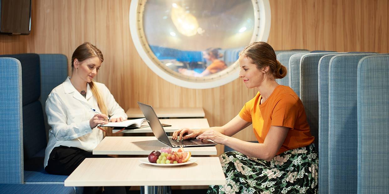 M/s Finlandia kävi telakalla – lisää mukavuutta ja entistä tehokkaampia bisnesmatkoja