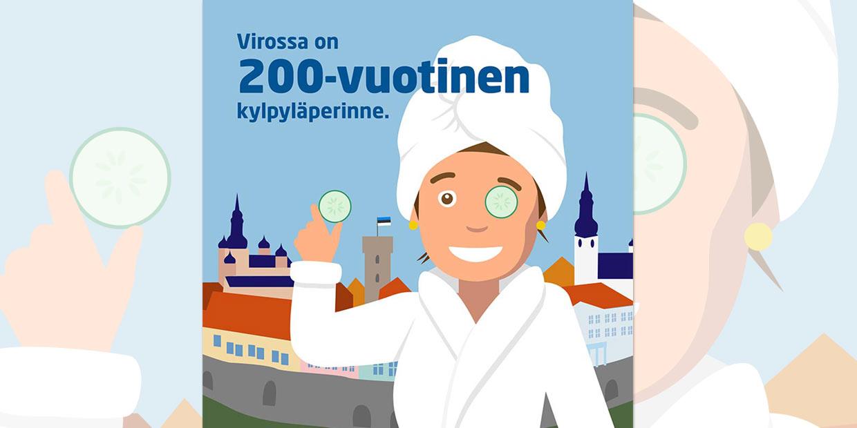 Kiinnostavatko Viron kylpylät? Tule minimessuille m/s Finlandialle 17.9.