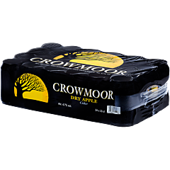 Crowmoor Dry Apple cider 24-pack