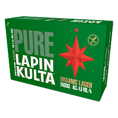 Lapin Kulta Pure Gluten Free 24-pack