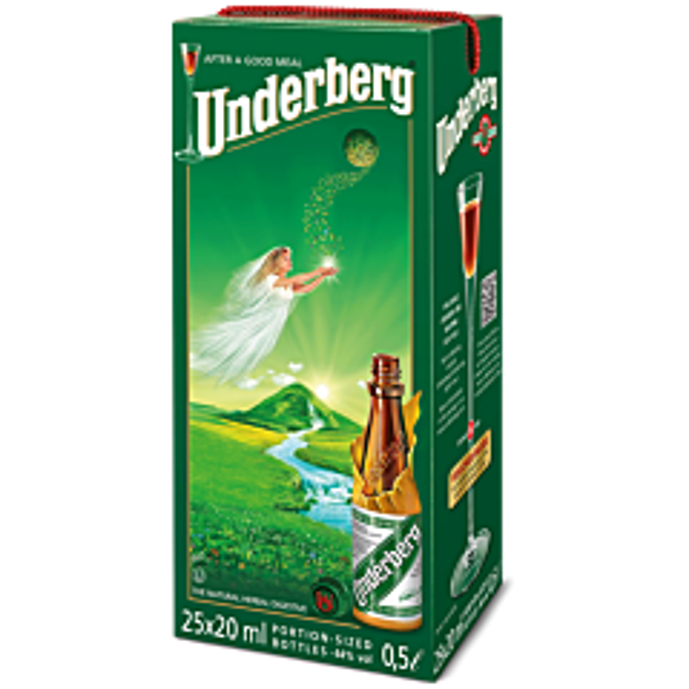Underberg 25-pack