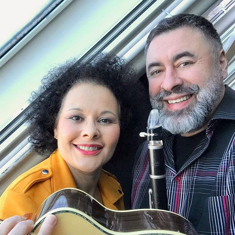 Bianca Morales & Jazzpianisti Zhenia Gimer