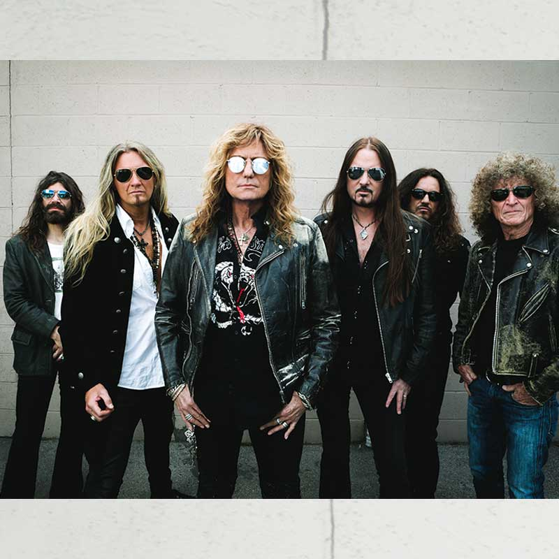 Whitesnake: Flesh & Blood World Tour +  Europe
