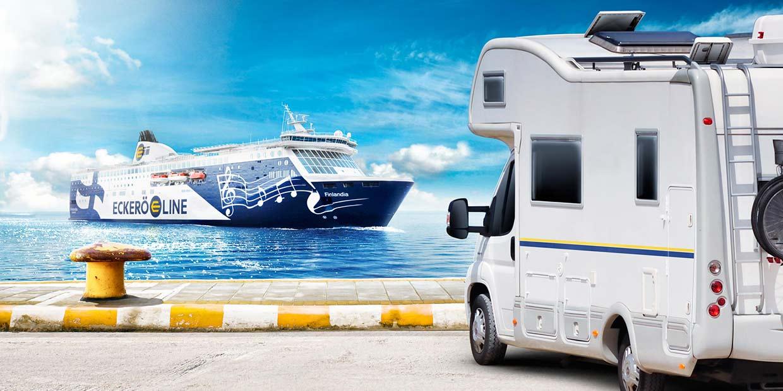 Autoliitto SF-Caravan edut Eckerö Linella