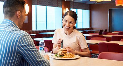 baarit ja ravintolat m/s Finlandia Cafetria Satama