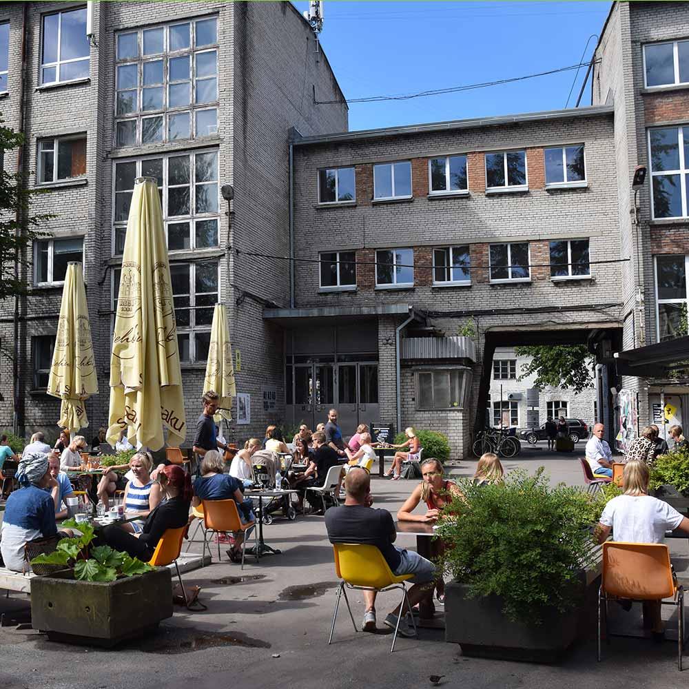 Tallinnan ravintolat F-Hoone
