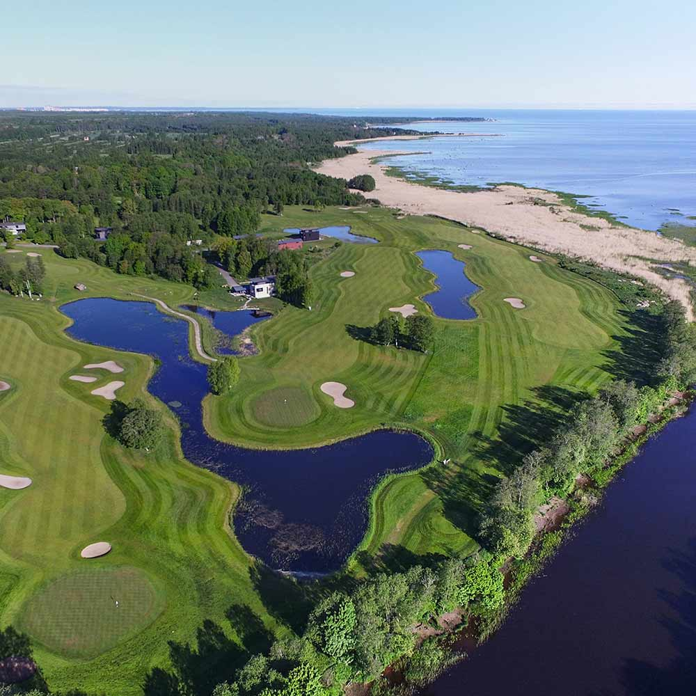 Lähde golfmatkalle Viroon: Estonian Golf and Country Club