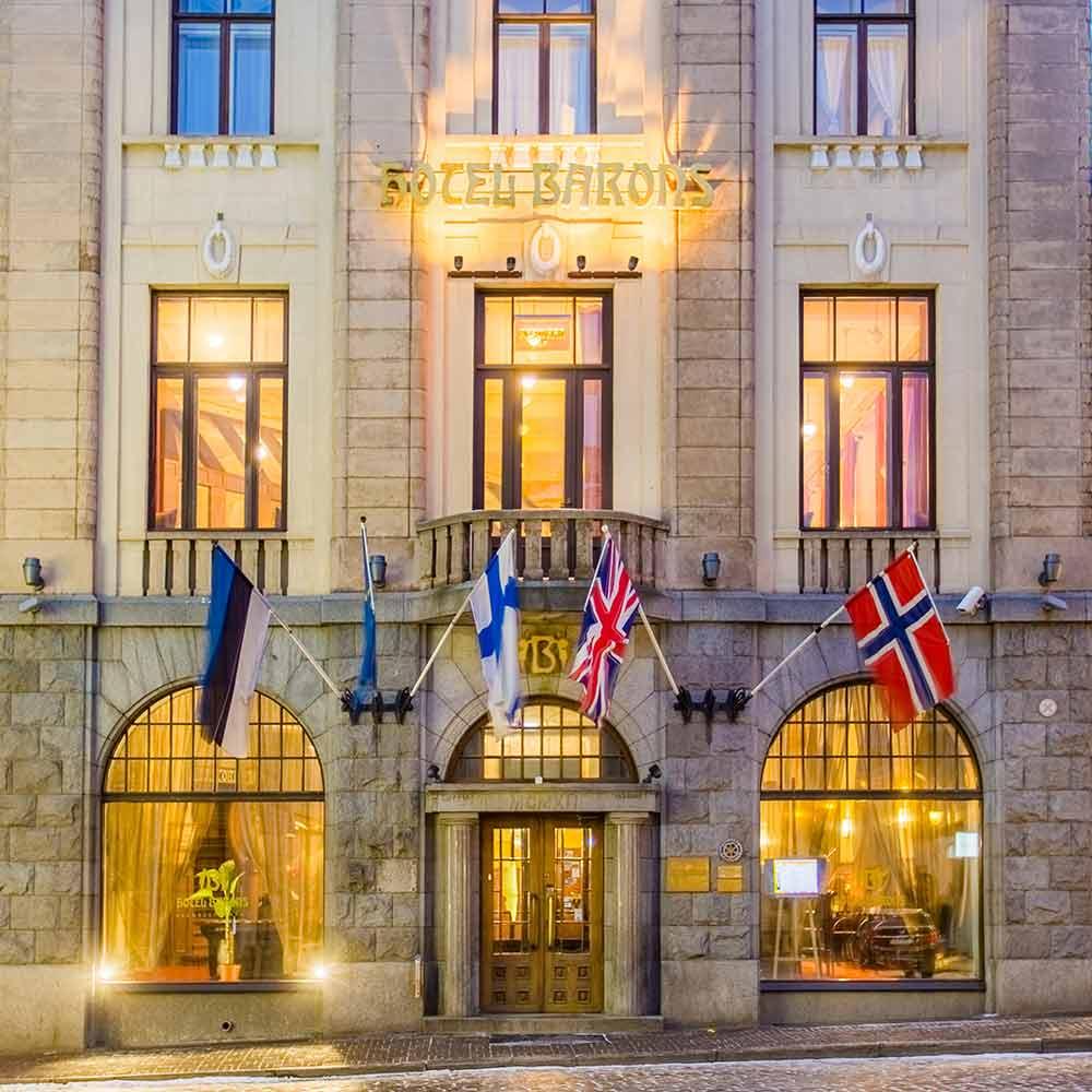 Hotellimatka, Hestia Hotel Barons
