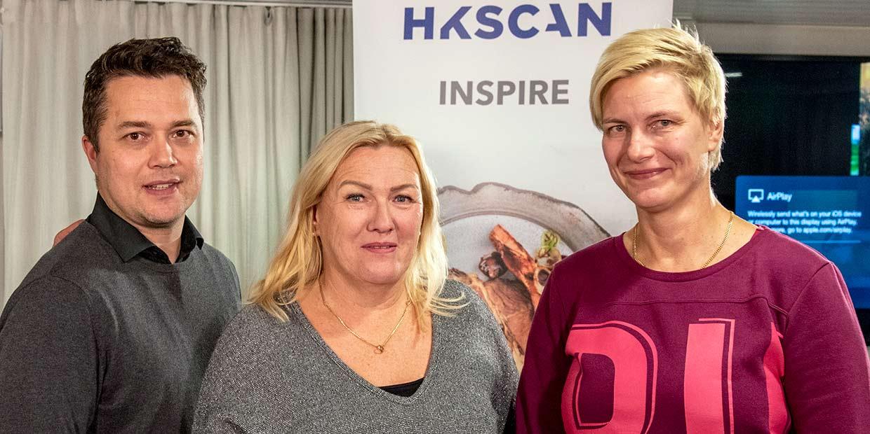 Sami Rekolan luentoa olivat tulleet mielenkiinnosta kuuntelemaan Tiina Laanti ja Nina Suominen.