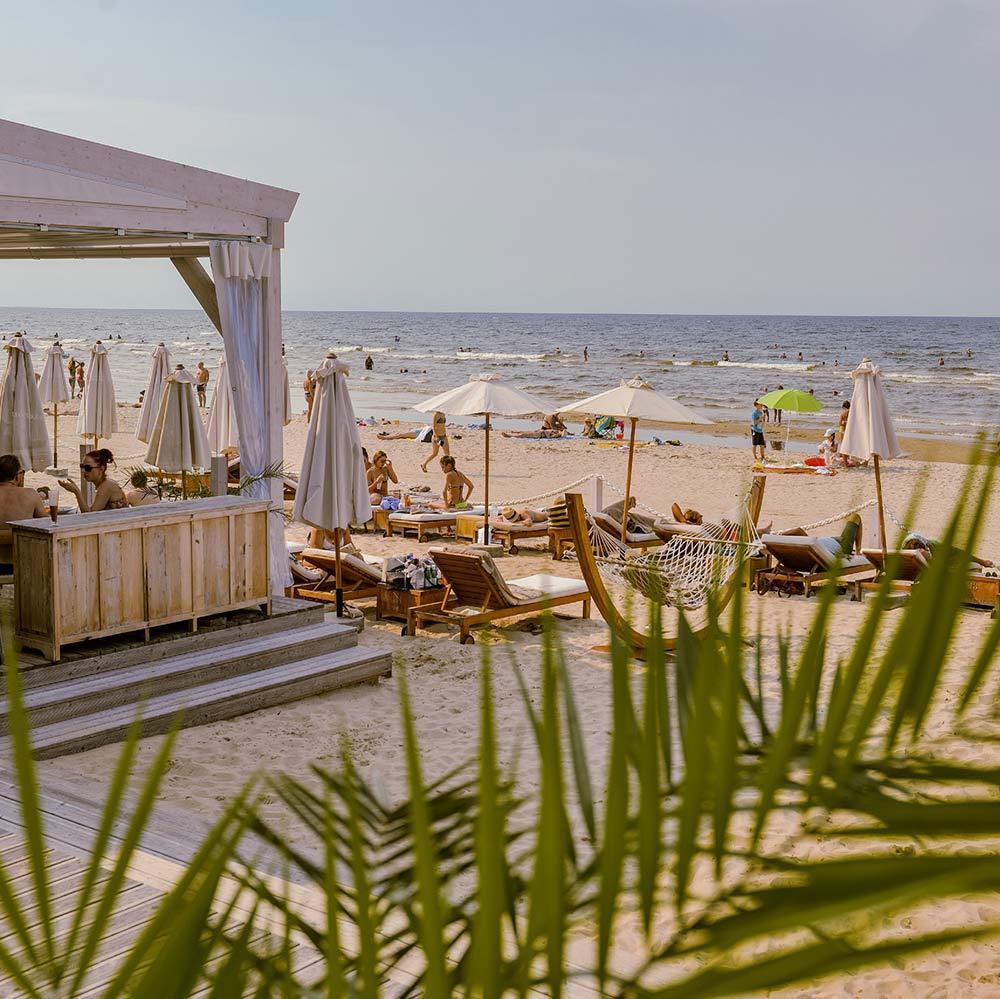 Jurmala ranta Lähde: Latvia Travel