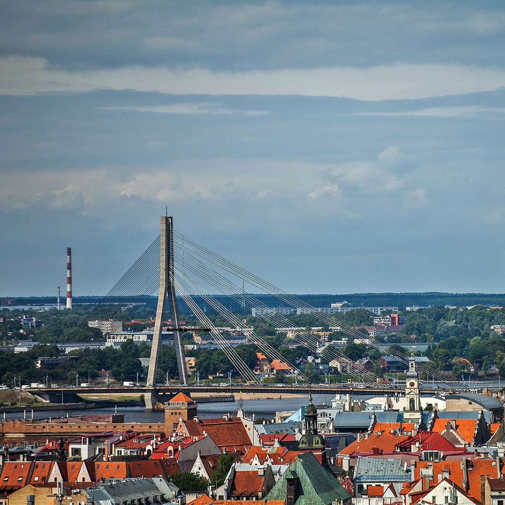 Riika Latvia Lähde:  latvia.travel, Investment and Development Agency of Latvia