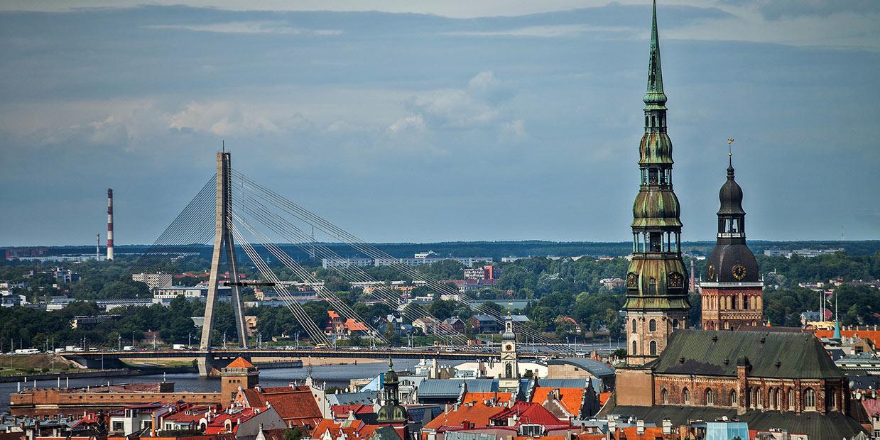 Riika Latvia Lähde:  latvia.travel, Investment and Development Agency of Latvia