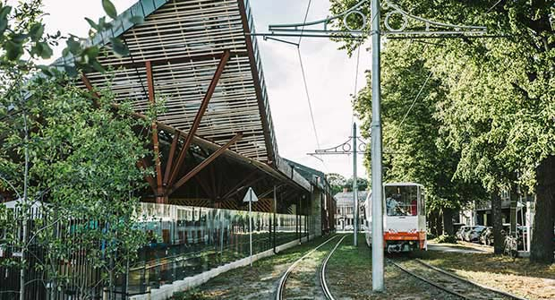 Tram 2 Kalamaja Visit Tallinn/Erik Peinar