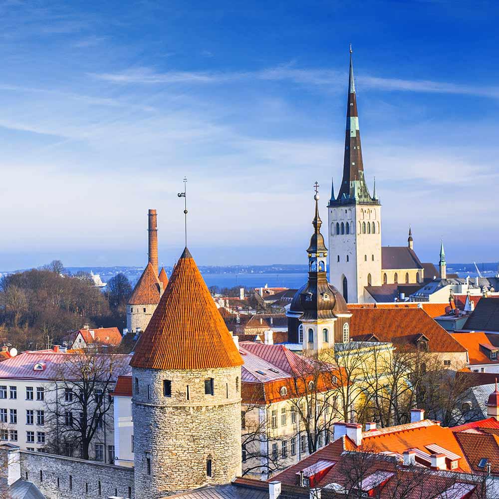 Tallinnassa vietät mukavan kokouspäivän.
