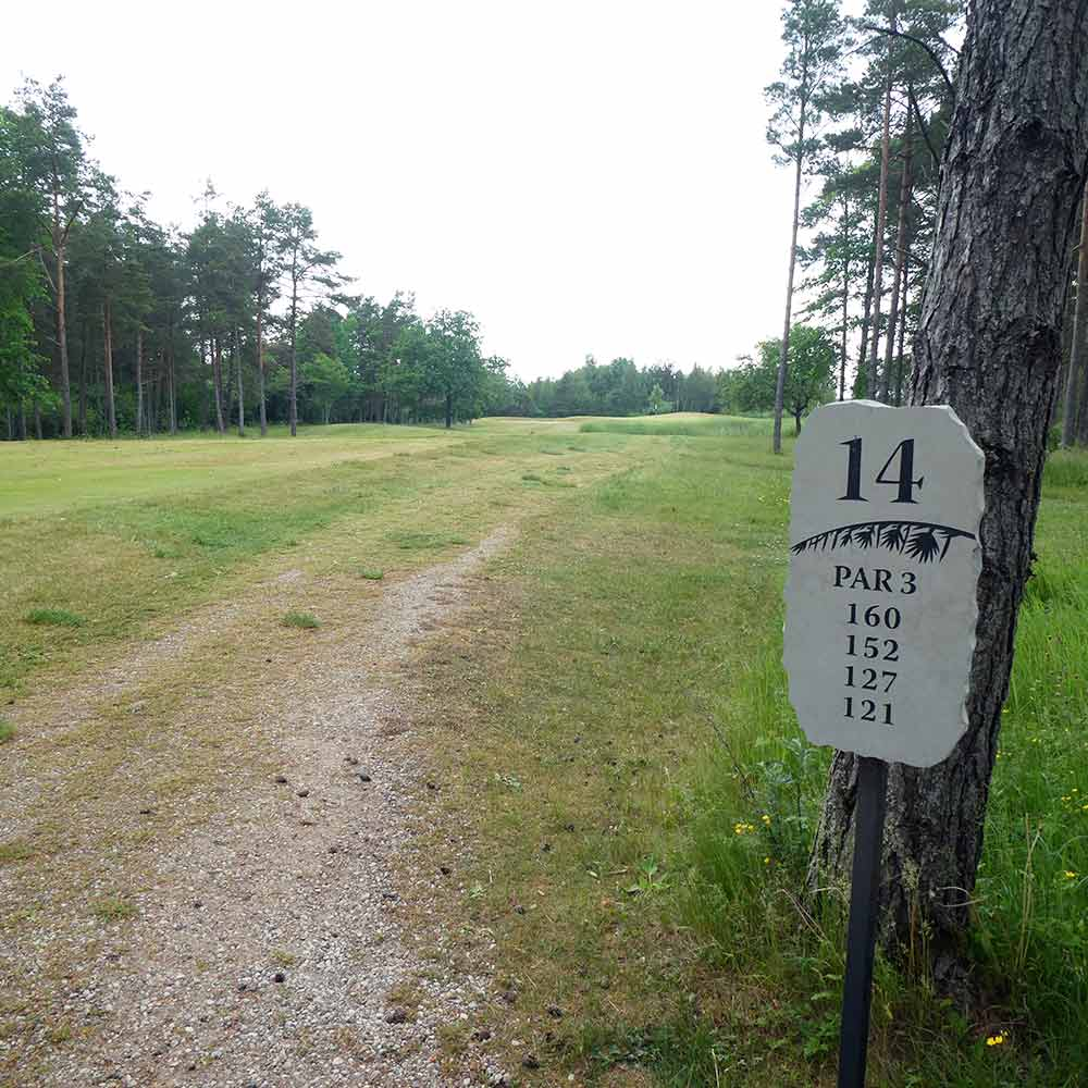 Saarenmaa Golf and Country Club, golfmatkalle Viroon