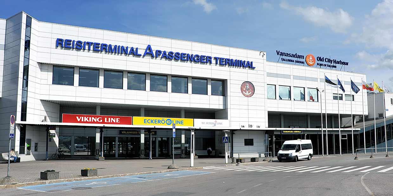 Liikenneyhteydet Satamaan Tallinna Eckero Line