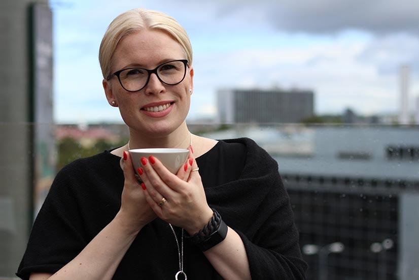 Terhi Pääskylä–Malmström kannustaa matkustamaan ruoan perässä myös Tallinnaa pidemmälle Viroon.